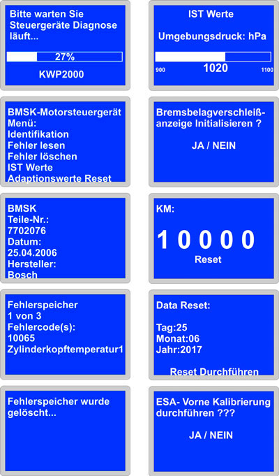 BMW Motorrad Diagnose Diagnosegerät HUSQVARNA